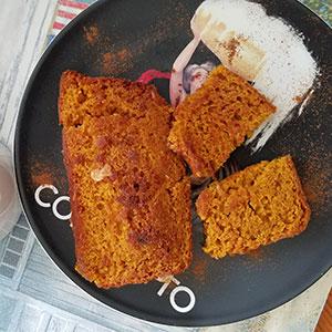 Gluten Free Pumpkin Bread Toast